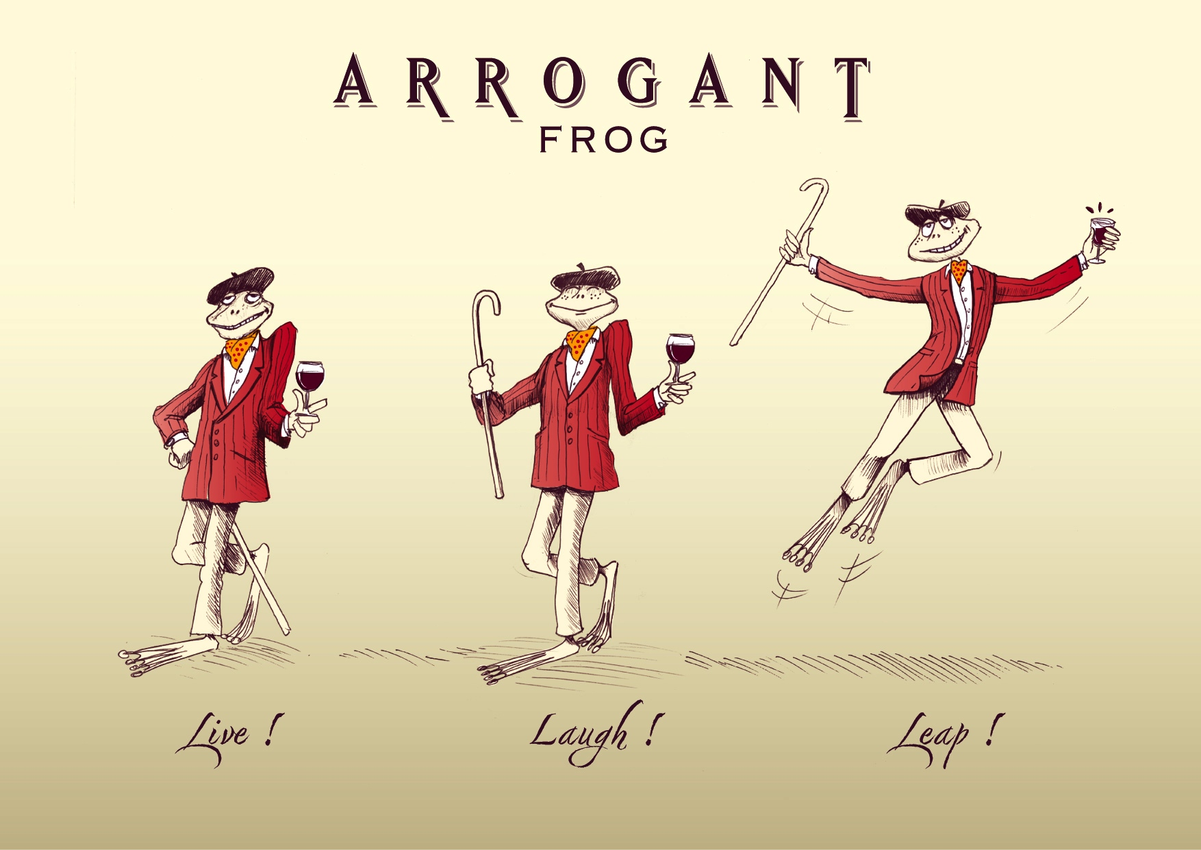 Arrogant Frog in Brazil