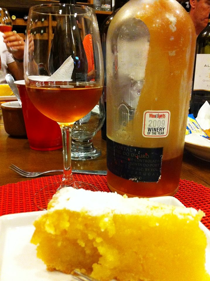 Quinta do Noval Moscatel 2000 com Toucinho do Céu