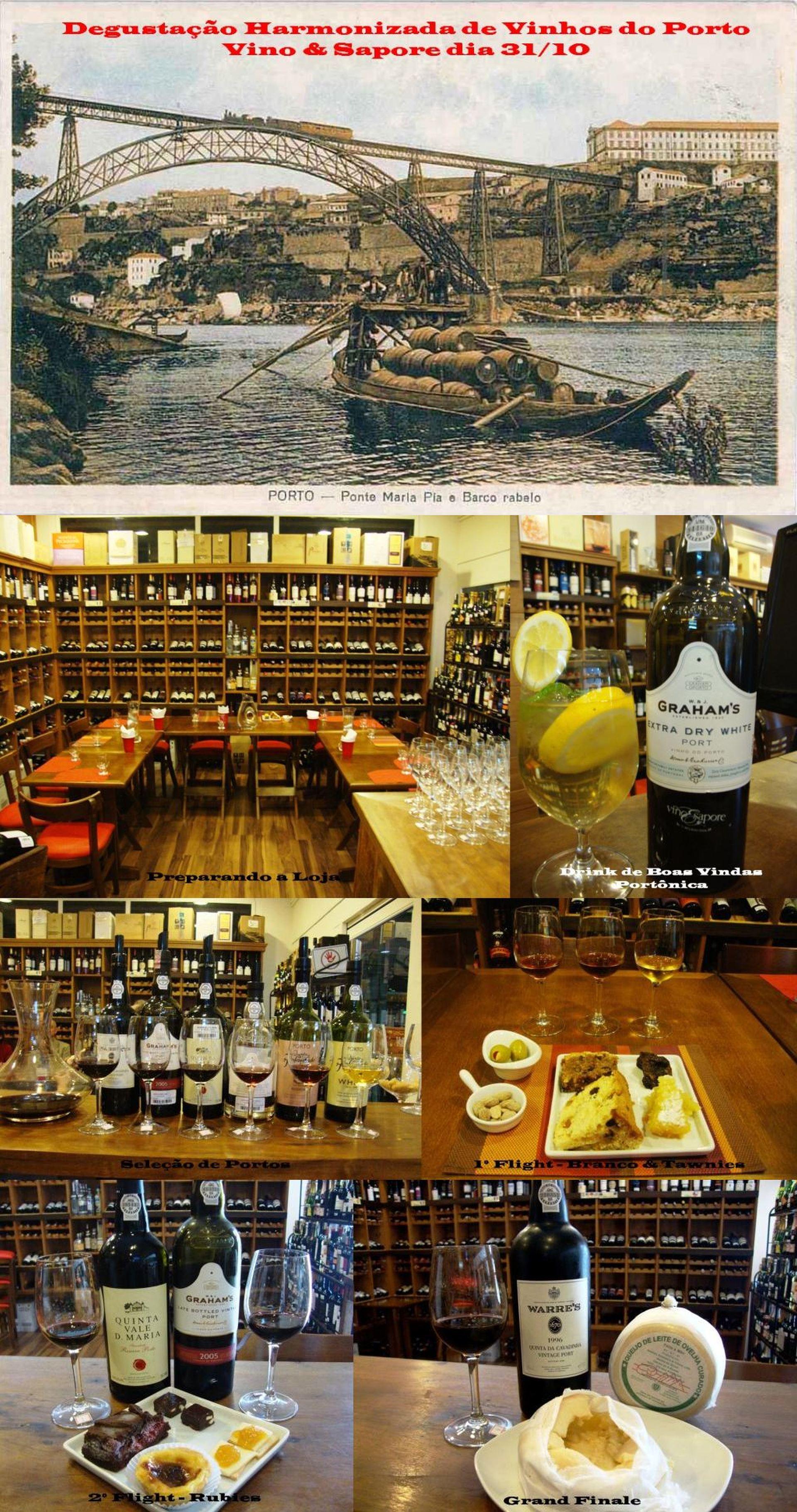Clipboard Vinhos do Porto na Vino & Sapore