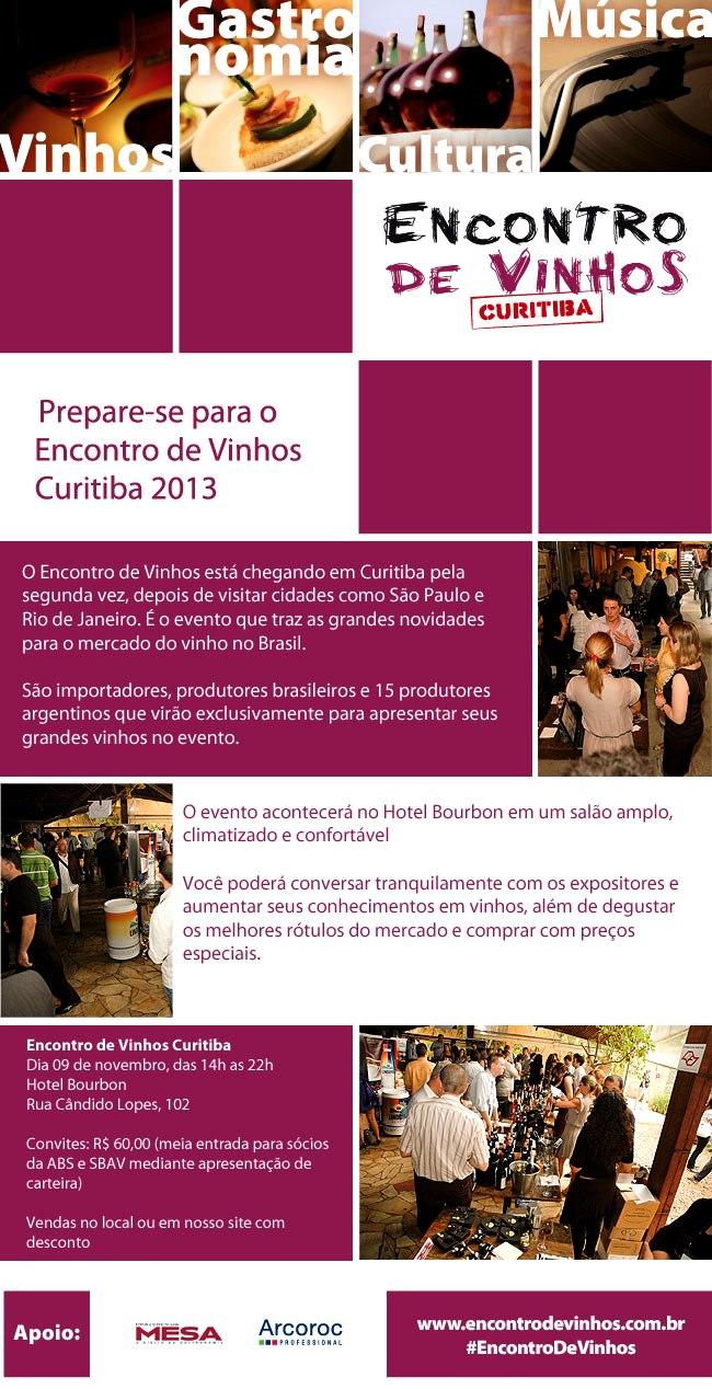 Encontro de Vinhos Curitiba