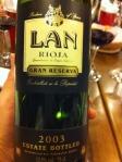 Rioja - Lan Gran Reserva