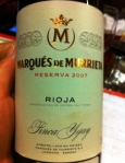 Rioja - Marques de Murrieta