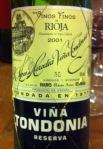 Tondonia tinto 2001