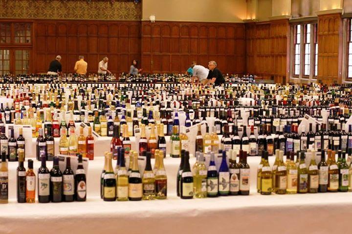 Concurso de vinhos