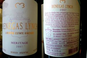 Benegas Meritage side by side