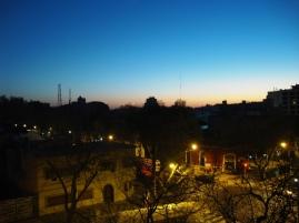 Day 1 - amanhecendo em Mendoza